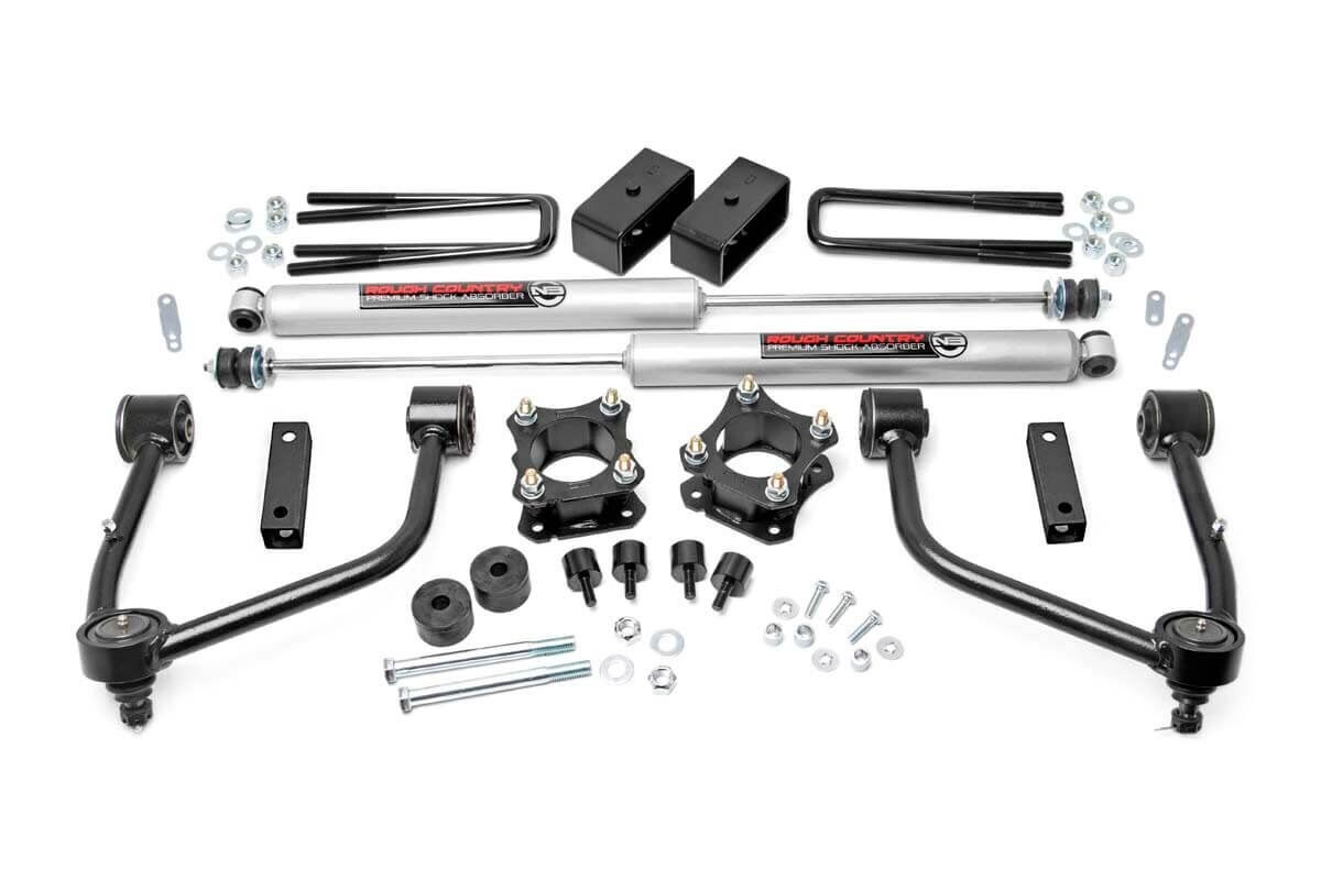 3.5in Toyota Tundra Bolt-On Lift Kit [76830]