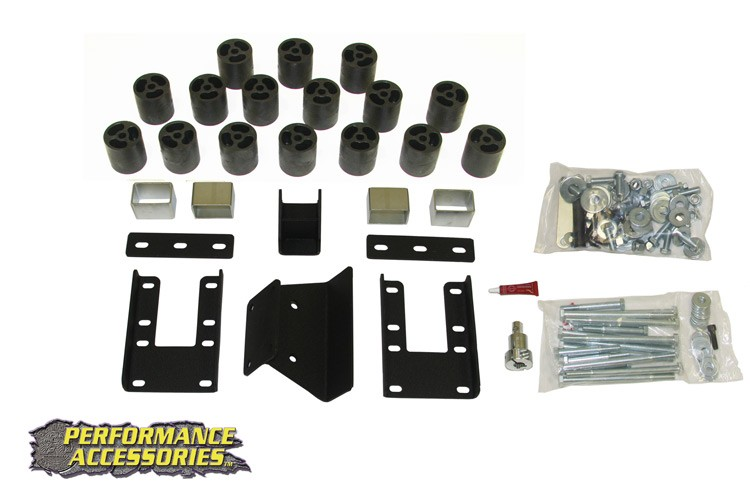 ROU- BL60203 Rough Country 09-12 Dodge Ram 1500 3IN Body Lift Kit