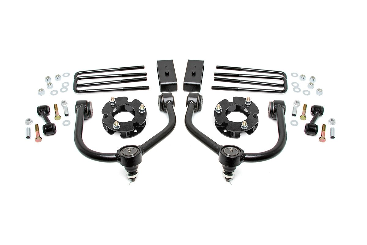 3in Nissan Titan Bolt-On Lift Kit [83400]
