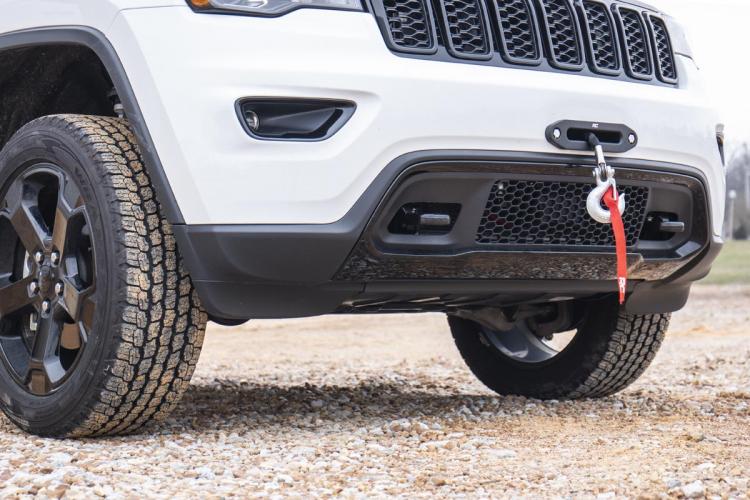 Jeep Hidden Winch Mounting Plate (14-20 Grand Cherokee WK2)